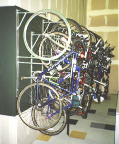 Bikeparking Com Wall Rack Vertirack Ii